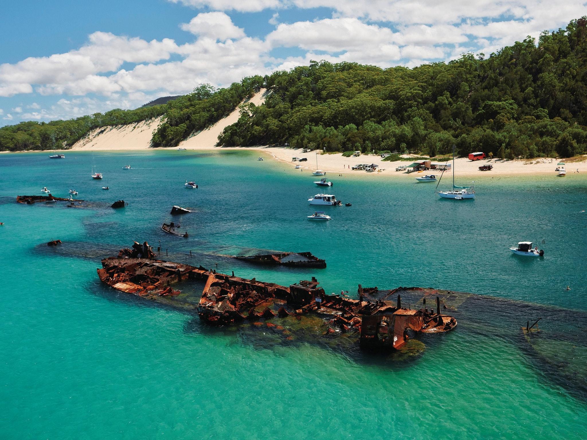 viajes que debes hacer - moreton island